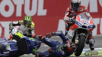 MotoGP: Vinales: Grazie Dovi, oggi ho avuto paura