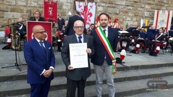 MotoGP: Riccardo Benvenuti, 'boss' del Mugello, Cavaliere della Repubblica