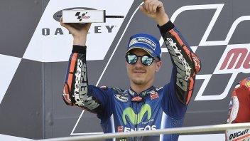 """MotoGP: Viñales satisfied: """"Today I used my head"""""""