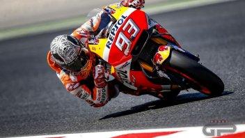 MotoGP: Test Barcellona: Marquez regola Vinales sul finale