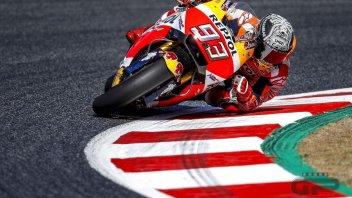 MotoGP: Marquez: la gomma simmetrica mi ha restituito il sorriso