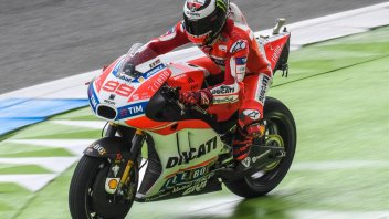 """MotoGP: Lorenzo: """"With less water I could have been from first to fifth"""""""