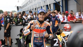 "MotoGP: Marquez: ""Zarco did not surprise me. Tomorrow I will aim for the podium"""
