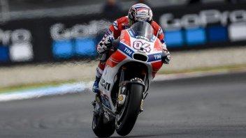 MotoGP: Ducati all'attacco: 1° Dovizioso, Rossi dopo un problema solo 16°
