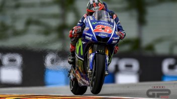 MotoGP: Viñales: New frame? Better only on some tracks