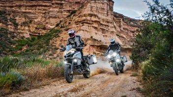 """Moto - News: Ducati Multistrada 1200 Enduro PRO: l'offroad """"si tinge di rosso"""""""
