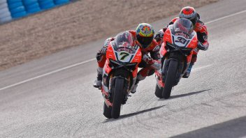 SBK: Test Misano, Melandri: Mi manca fiducia in frenata con la Ducati