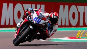 SBK: SS300: Mika Perez in pole a Misano