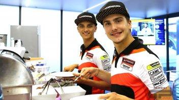Moto2: Marini e Baldassarri: una dieta da... Totti