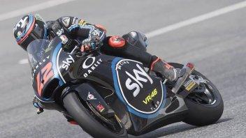Moto2: Bagnaia si prende il warmup, 5° Corsi, 9° Morbidelli