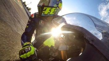 MotoGP: Valentino Rossi plays teacher at Misanino