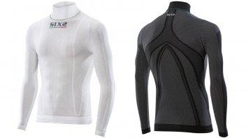 Moto - News: Sixs TS3L: la maglia a lupetto con maniche lunghe in SuperLight Carbon Underwear