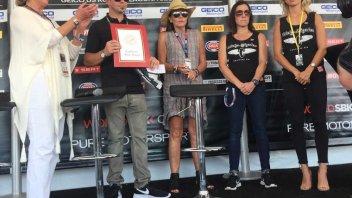 SBK: La famiglia Hayden onorata a Laguna Seca