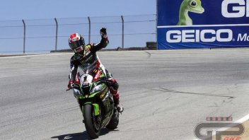 SBK: Rea wins at Laguna Seca, Sykes 2nd, Davies 3rd
