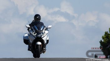 Test: BMW K 1600 GTL: globetrotter in salsa Lounge