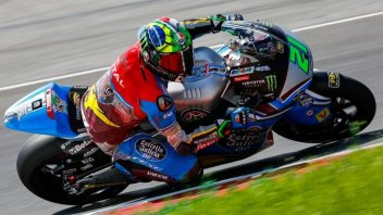 Moto2: Morbidelli, test con caduta in Austria