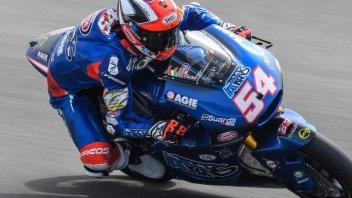 Moto2: FP2, Pasini in vetta a Brno, Bagnaia 2°