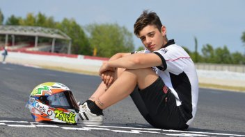 Moto3: Tony Arbolino con il team Snipers nel 2018