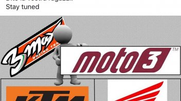 Moto3: Biaggi on Facebook: Help me choose between Honda and KTM