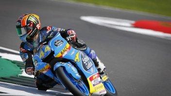 Moto3: Bandiera rossa a Silverstone: vince Canet, 2° Bastianini