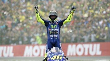 MotoGP: A Brno Valentino Rossi sogna il sorpasso su Max Biaggi