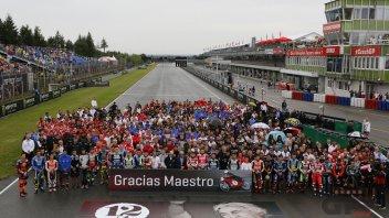 News: Il paddock in silenzio per Angel Nieto