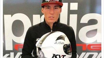 MotoGP: Aleix Espargarò pays homage to Angel Nieto with his helmet
