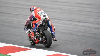 MotoGP: Petrucci: The new tyre... seemed used