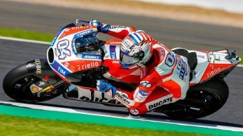 """MotoGP: Dovizioso: """"A difficult day, but tomorrow I'll try to win"""""""