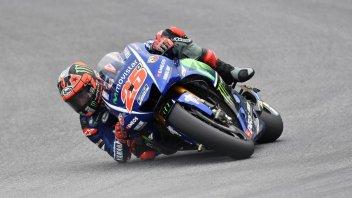 MotoGP: FP1: Vinales fa ruggire la Yamaha a Silverstone