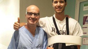 News: Cecchini operato, tre settimane il tempo di recupero