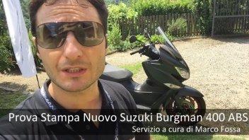 Scooter: VIDEOTEST: Suzuki Burgman 400