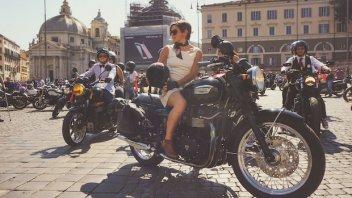 Moto - News: Triumph: si avvicina il Distinguished Gentleman's Ride 2017