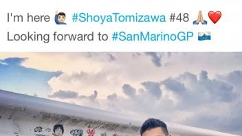 Moto2: Takaaki Nakagami: a tribute to Shoya Tomizawa