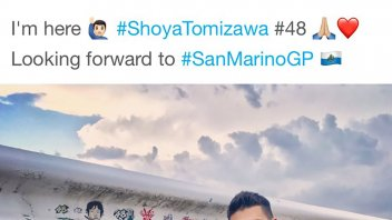 Moto2: Takaaki Nakagami: omaggio a Shoya Tomizawa