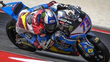Moto2: FP1: Alex Marquez, primo con caduta a Misano