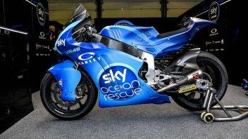 Moto2: Profondo blu: il team Sky con una livrea per salvare il mare