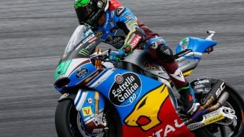 Moto2: Morbidelli beffa Pasini nelle FP3 ad Aragon