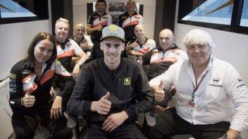 Moto2: Stefano Manzi con il team Forward nel 2018