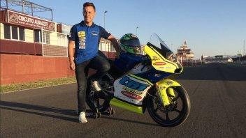Moto3: Efren Vazquez tester per la nuova Moto3 di TM