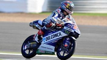 Moto3: Di Giannantonio si prende la vetta, 3° Bastianini