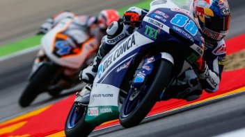 Moto3: QP: Jorge Martin torna in pole ad Aragon