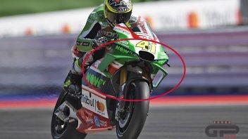 MotoGP: FOTO. A Misano Aprilia svela la nuova carena