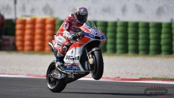 MotoGP: Dovizioso: The Hondas held back