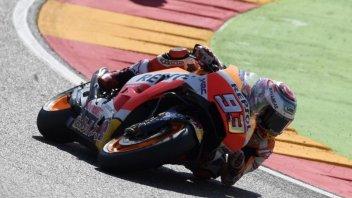 MotoGP: Marquez, che missile nel warmup, 14° Dovizioso