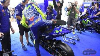 MotoGP: FP1. Rossi, debutto bagnato ad Aragon: è 18°