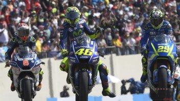 """MotoGP: Rossi: il 5° posto? """"colpa"""" più della M1 che della gamba"""