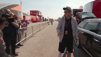MotoGP: Valentino Rossi è ad Aragon, visita medica alle 14:30