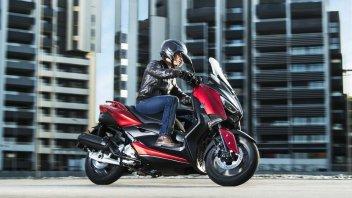 News Prodotto: Yamaha X-MAX 125 m.y. 2018: look rinnovato per il piccolo sportivo di Iwata