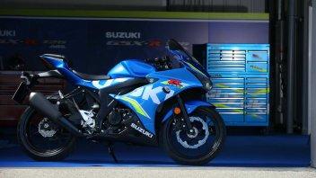 News Prodotto: Suzuki GSX-R125, GSX-S125 e V-STROM 250: i prezzi